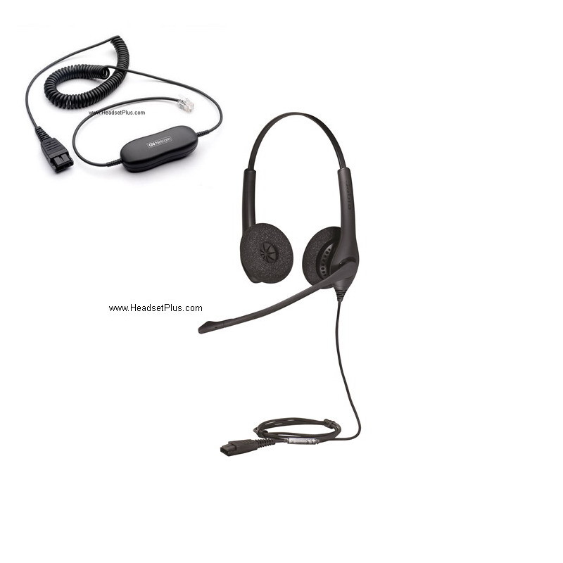 Jabra Biz 1500 Duo Direct Connect Headset