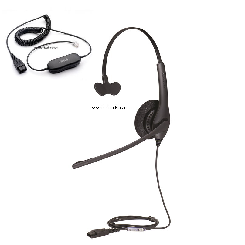 Jabra Biz 1500 Mono Direct Connect Headset