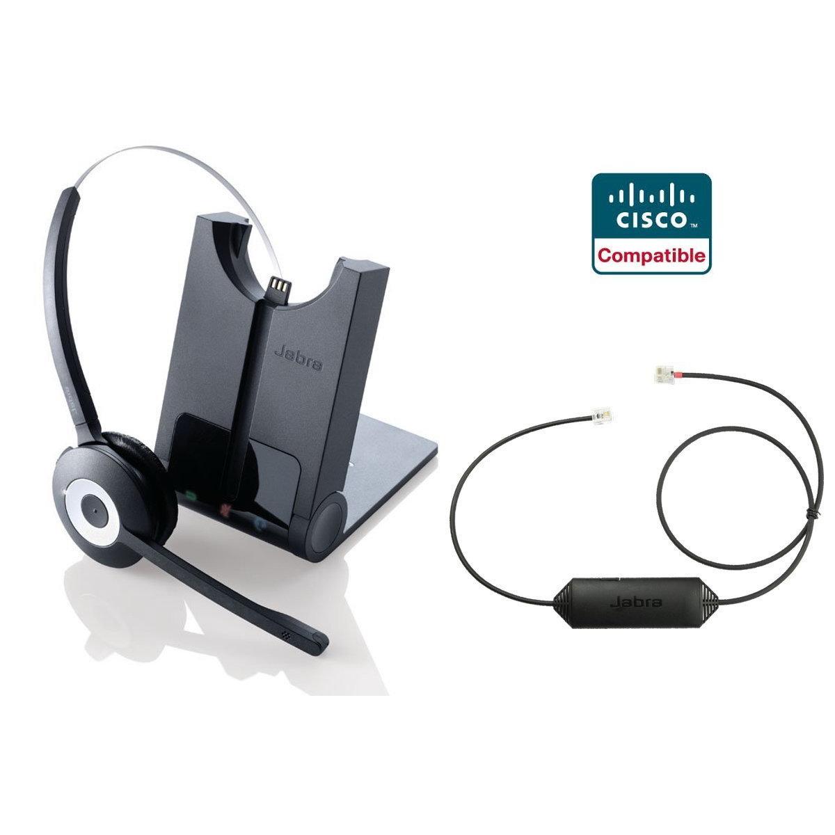 Jabra Pro 920 Cisco Ip Phone Wireless Headset Ehs Remote Bundle