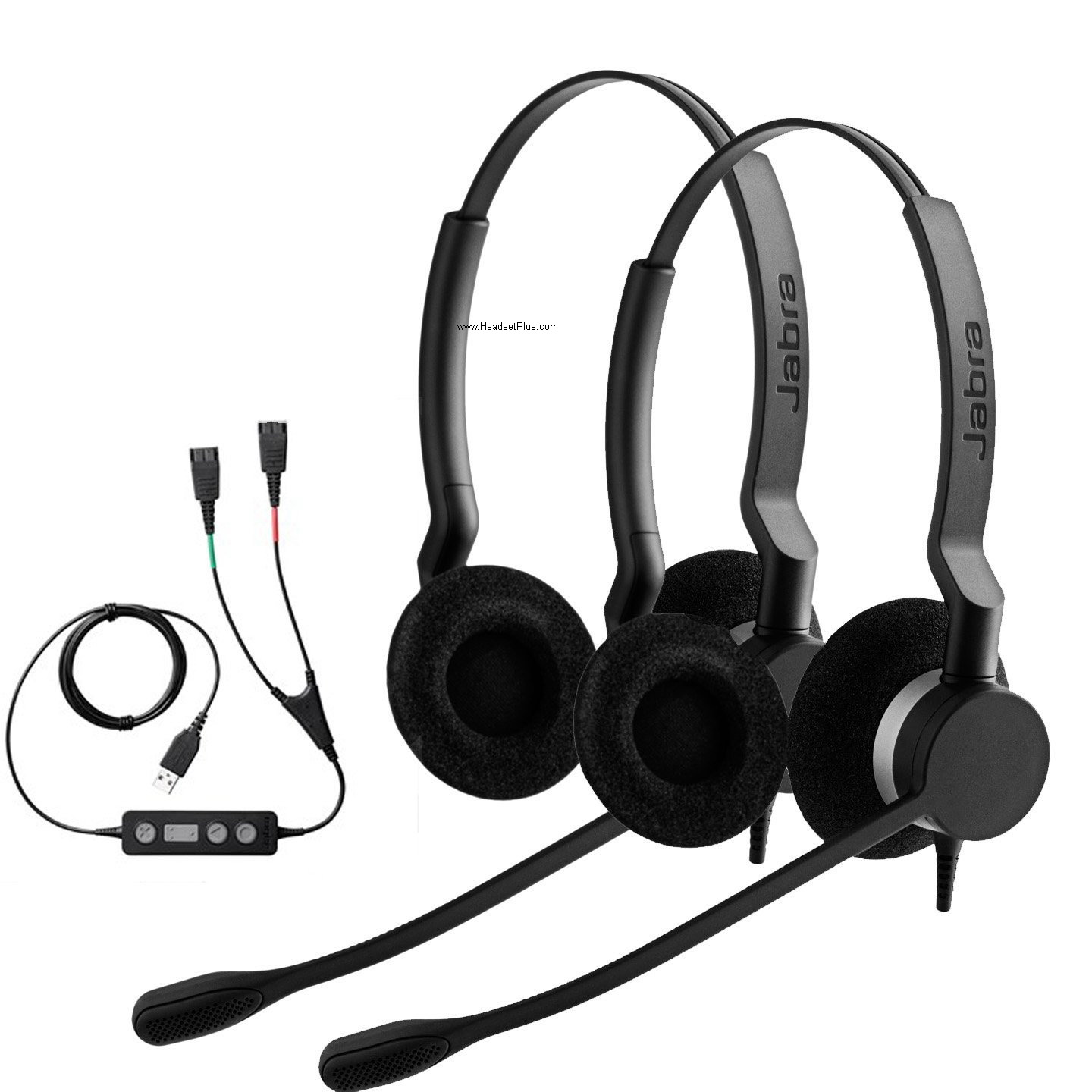 Jabra PC USB Training Bundle with Two Jabra Biz 2300 Duo Headset