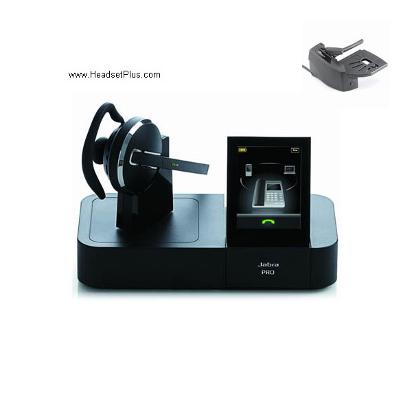 Jabra Pro 9460 Flex + GN1000 Wireless Headset Bundle *Discontinu