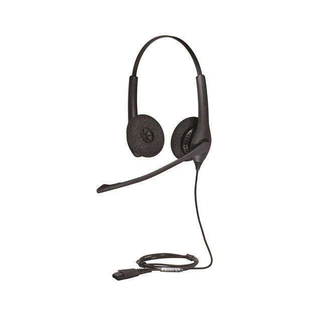 Jabra Biz 1500 Duo Noise Canceling Headset 1519 0157