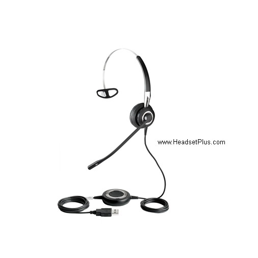 Jabra Biz 2400 MS/Lync USB/Bluetooth Mono Headset