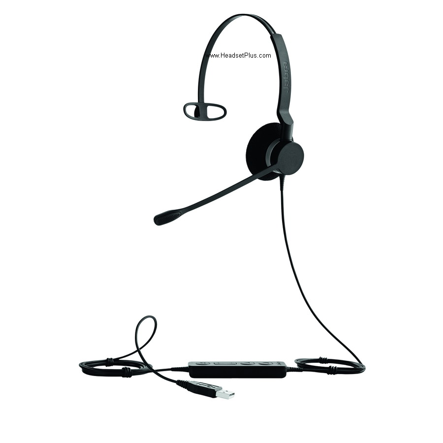 Jabra Biz 2300 USB Mono Noise Canceling Headset, Microsoft Teams
