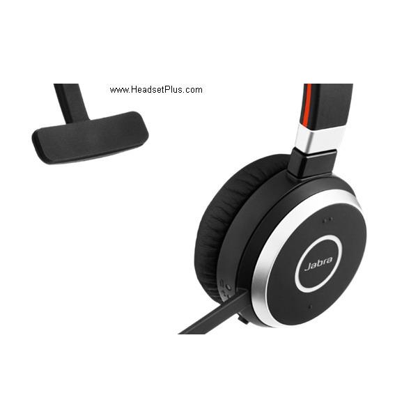 Jabra Evolve 65 Ms Mono Usb Bluetooth Headset With Charging Stand