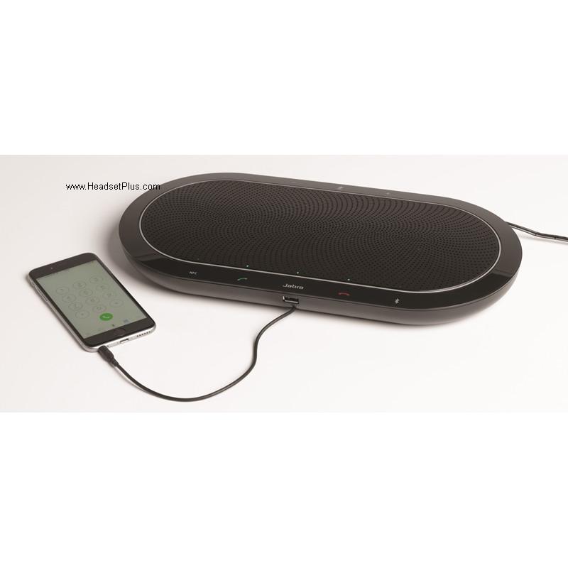 Jabra Speak 810 Ms Bluetooth Wireless Professional: Jabra Speak 810 UC USB, Bluetooth SpeakerPhone UC Bundle