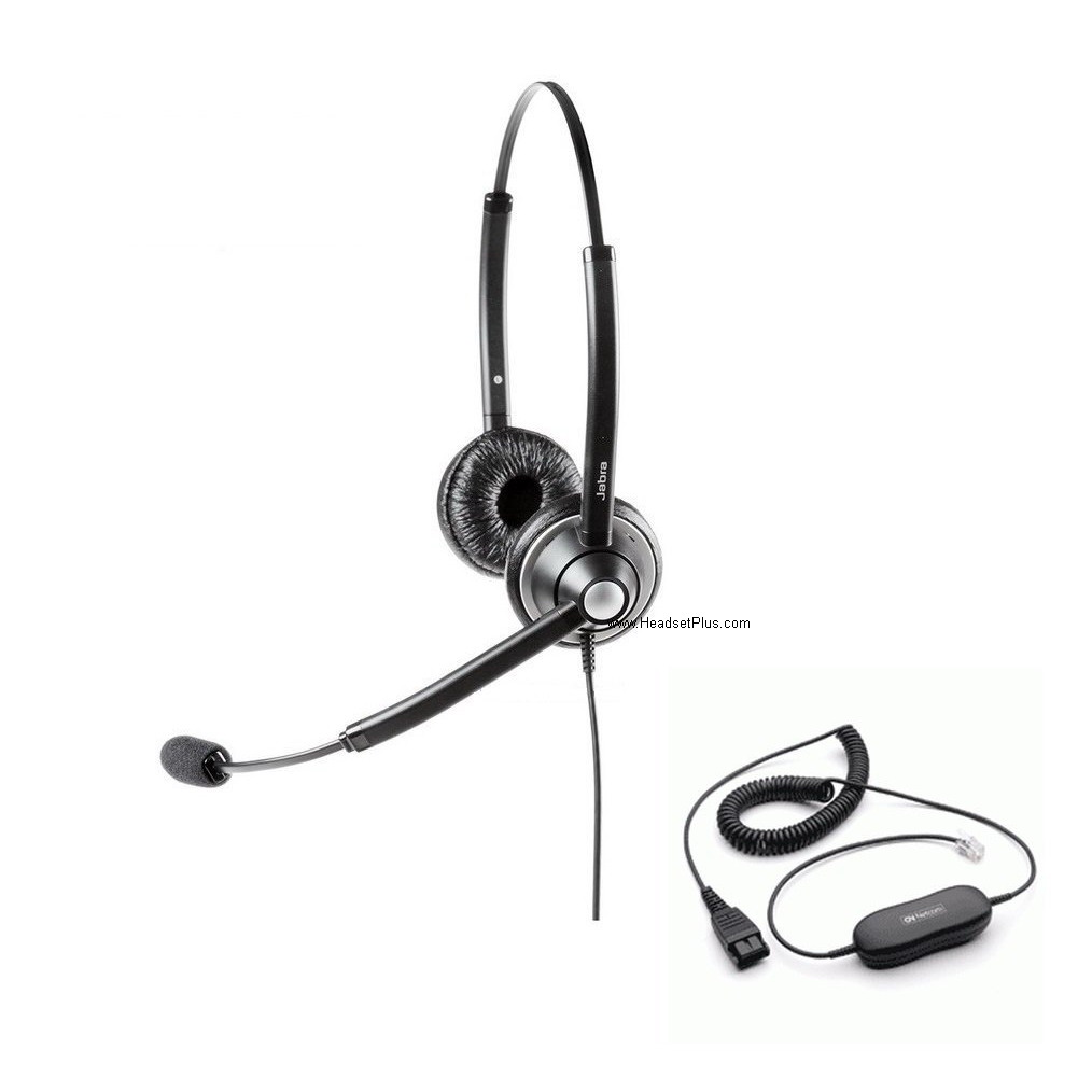 Jabra Biz 1925 Duo Binaural Direct Connect Headset *Discontinued