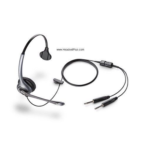 Plantronics MS250 Commercial Aviation Headset