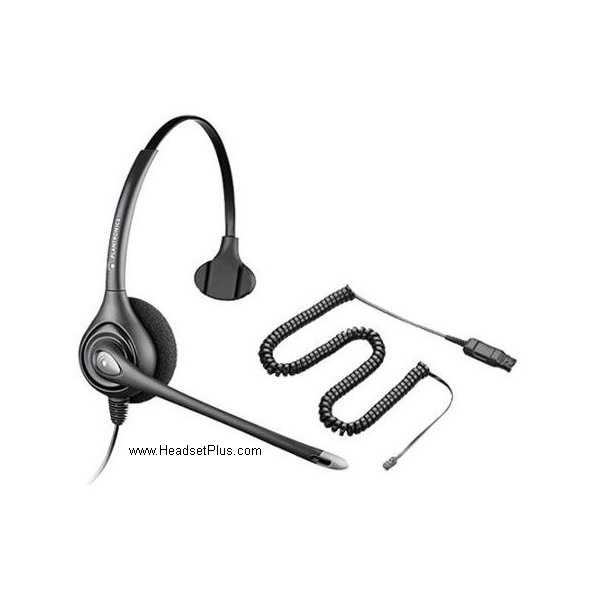 Plantronics PW251N Polaris SupraPlus Wideband Headset *Discontin