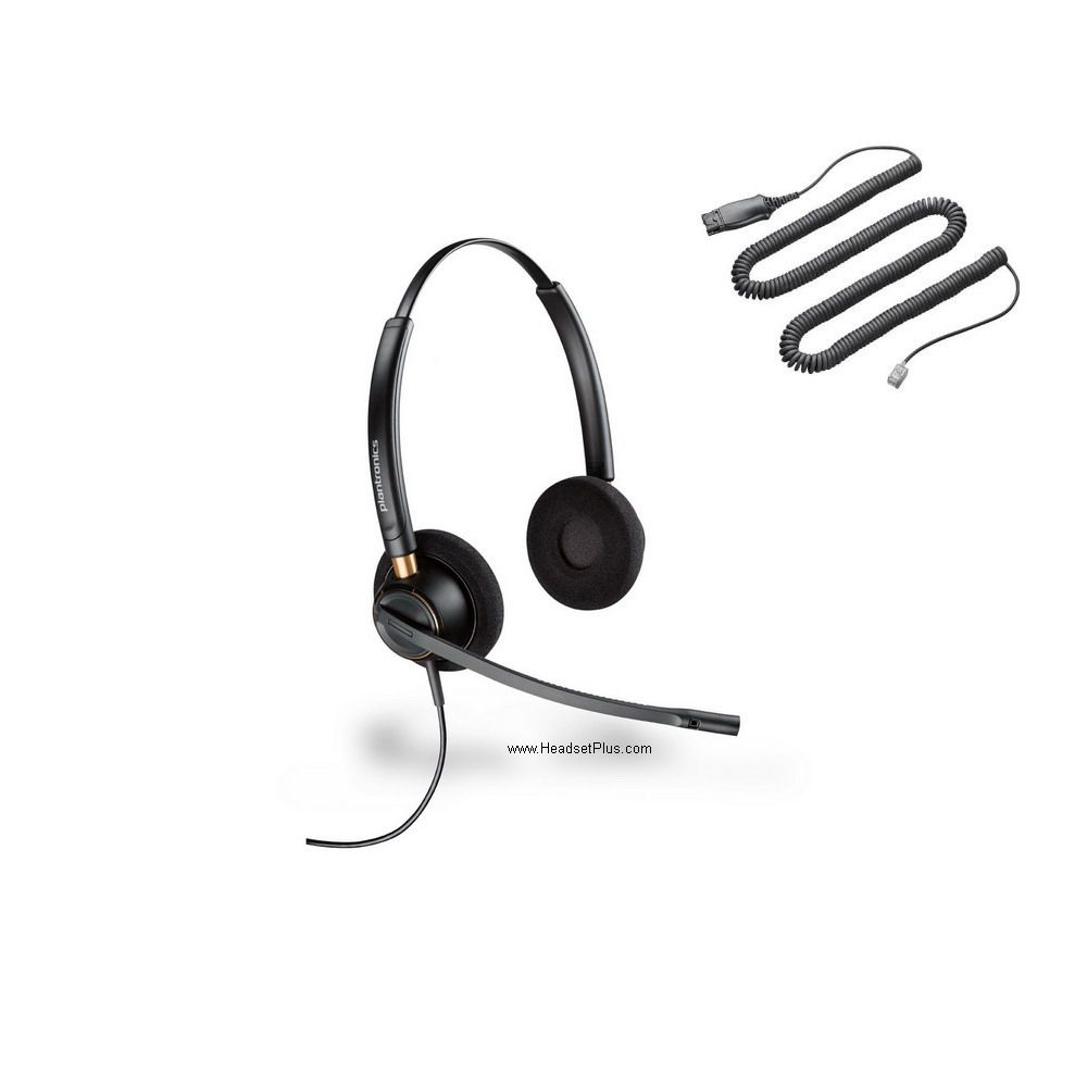 Plantronics PW520 Polaris Binaural Noise Canceling Headset