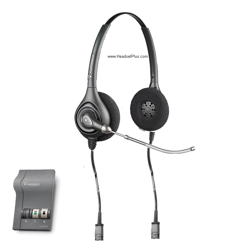 Plantronics SMH 1783 Headset for Visually Impaired, Dictation