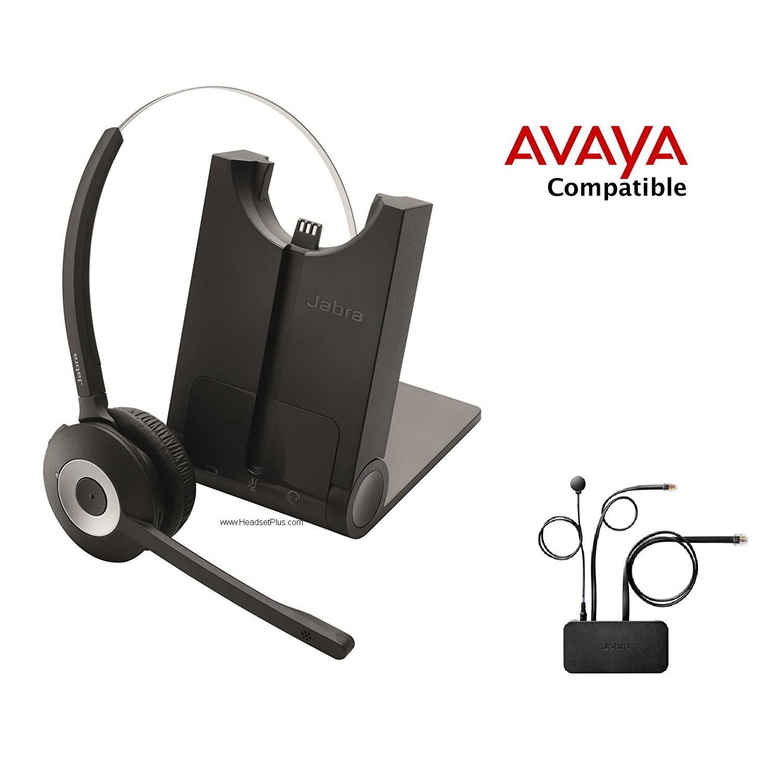 Jabra Pro 925 Avaya 1600 9600 Voip Phones Bluetooth Headset Ehs Package