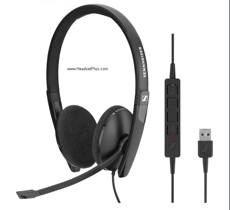 Sennheiser SC 160 USB-A Stereo Computer Headset, Teams Certified