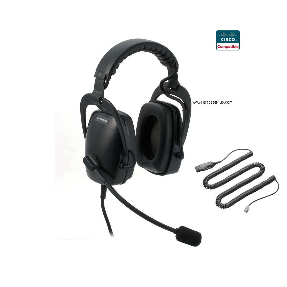Plantronics SHR2083-01-CIS Cisco Compatible Headset (no return)