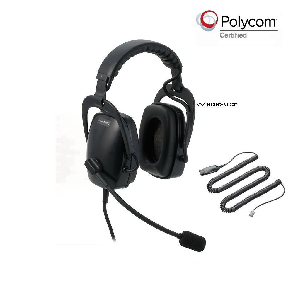 Plantronics SHR2083-01-POLY Polycom Headset (no return)