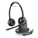 Plantronics Savi W420 Binaural Wireless USB Headset UC Standard