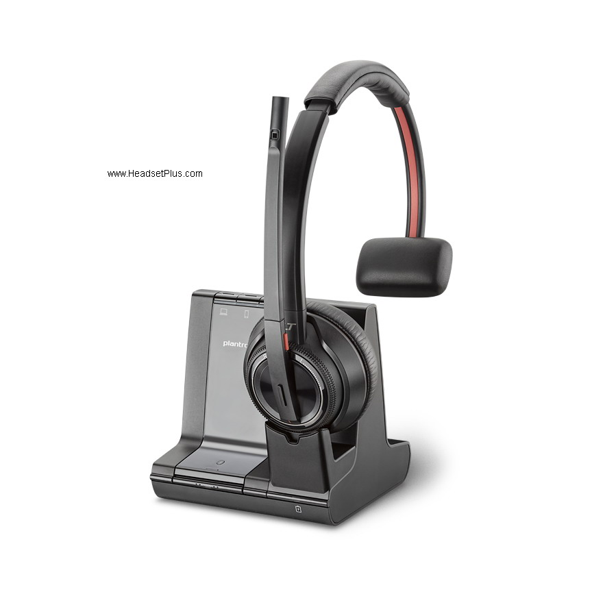 Plantronics Savi 8210-M Microsoft Wireless Headset Mono, 8200