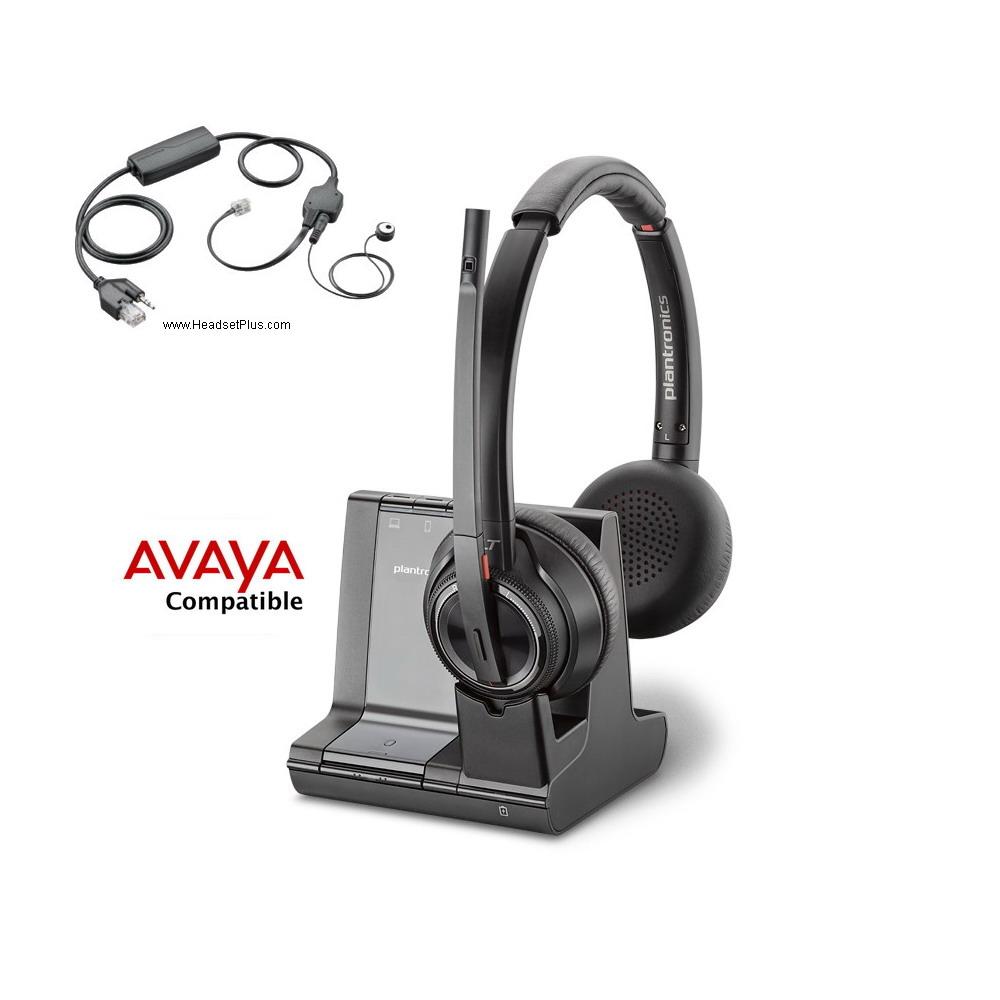 Avaya Compatible Headsets by Plantronics, Jabra