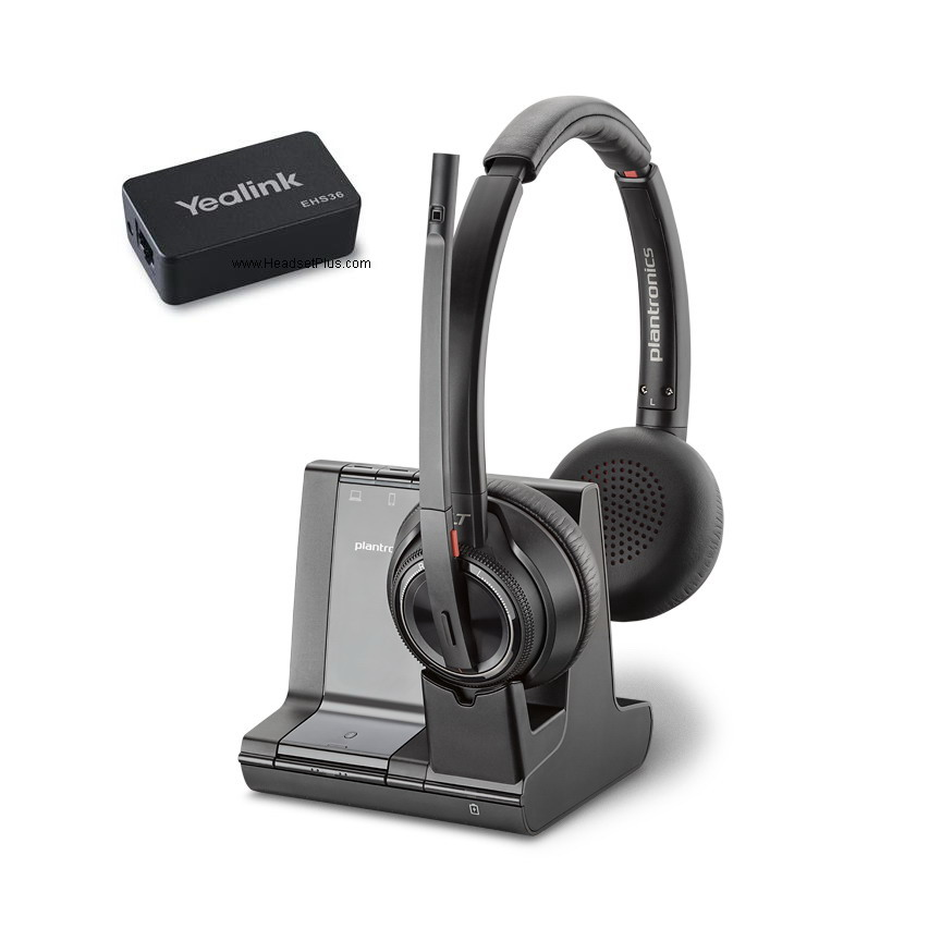 Plantronics Savi 8220 + EHS Remote Answer Bundle for Yealink
