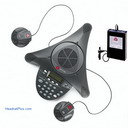 Polycom Soundstation2 EX with 2 Ext Mics + Wireless Mic
