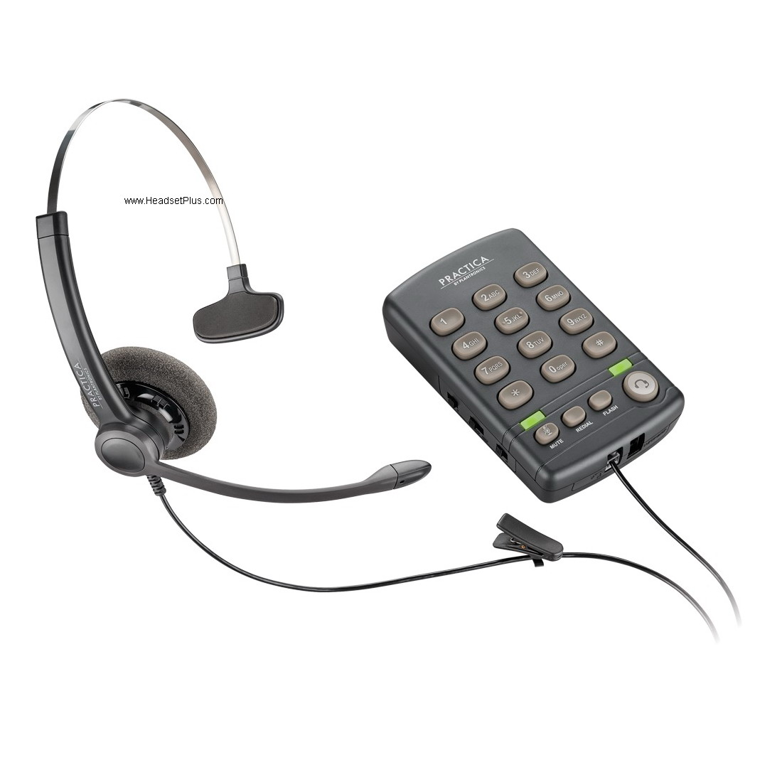 Plantronics T110 Practica Headset Telephone