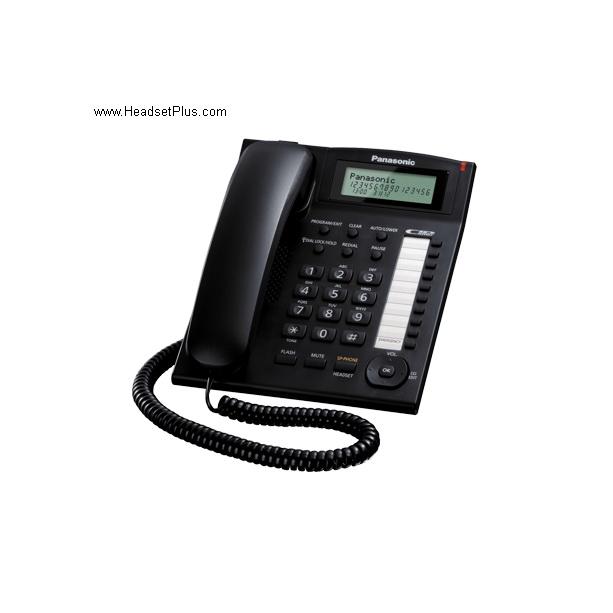 Panasonic Kx Ts880 B Single Line Telephone Speaker Phone