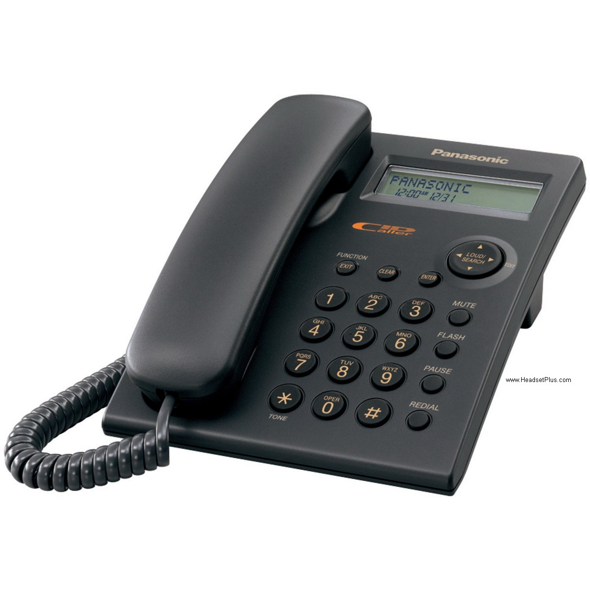 Panasonic KX-TSC11-B 1-Line Telephone with Caller ID