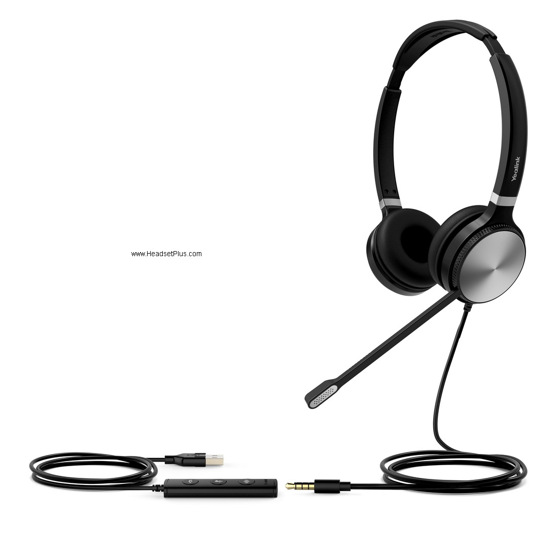 Yealink UH36-Dual Stereo USB-A w/3.5mm Headset Microsoft Teams