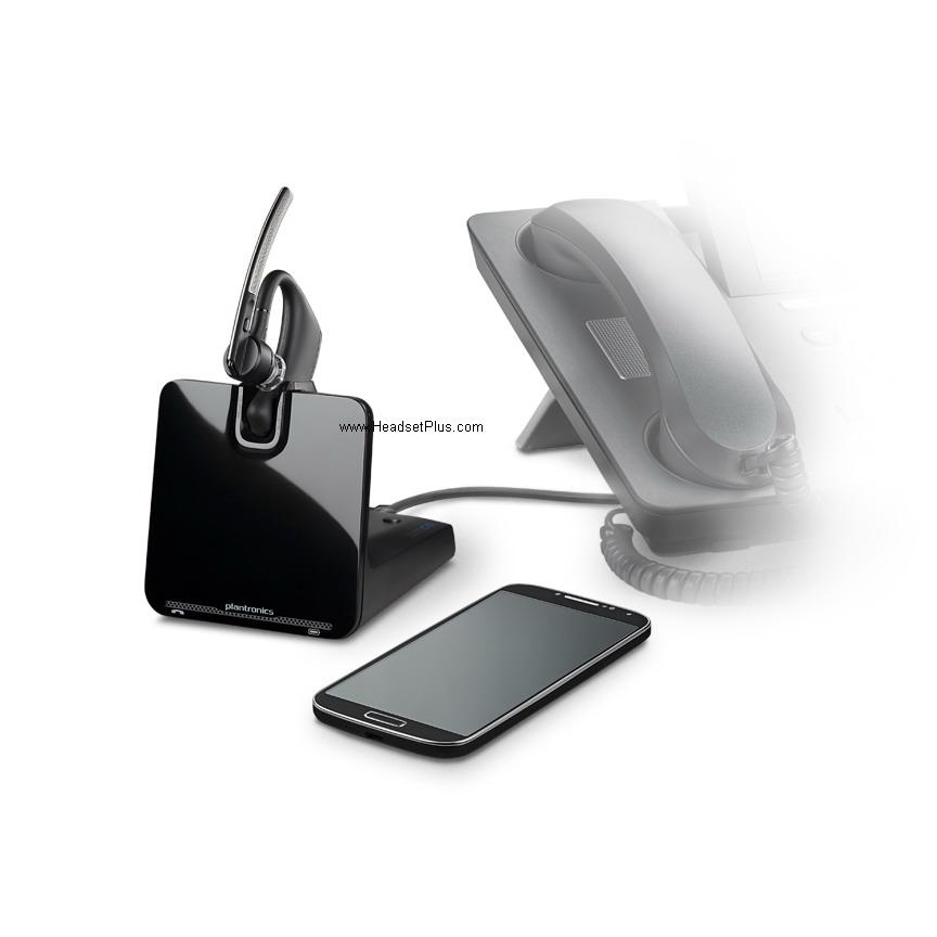 Plantronics Legend Cs Bluetooth Wireless Headset System On The Ear Design 88863