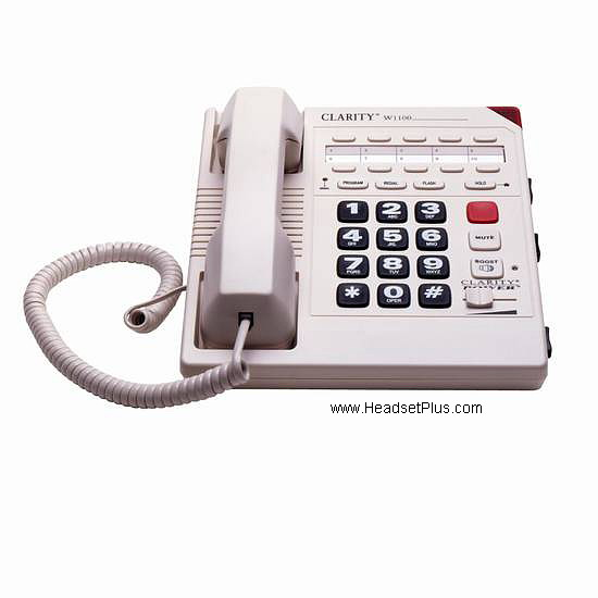 Clarity Walker W1100 Amplified 1-Line Telephone *Discontinued*