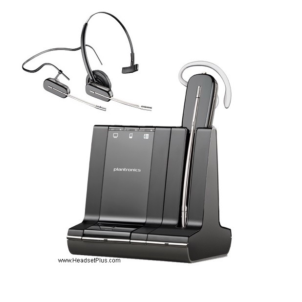 Plantronics Savi W740-M Wireless Headset MS *Discontinued*