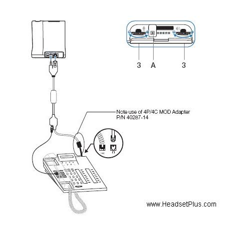 Plantronics Apv 63 Savi Cs500 Ehs Electronic Hook Switch