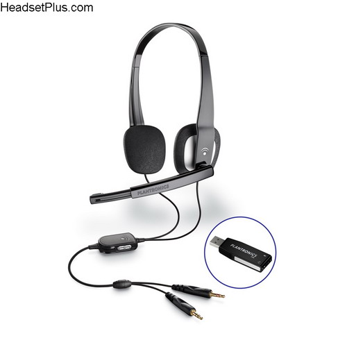 Plantronics .Audio 625 USB Computer Headset *Discontinued*