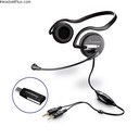 Plantronics .Audio 645 Behind-The-Head USB Headset *Discontinued
