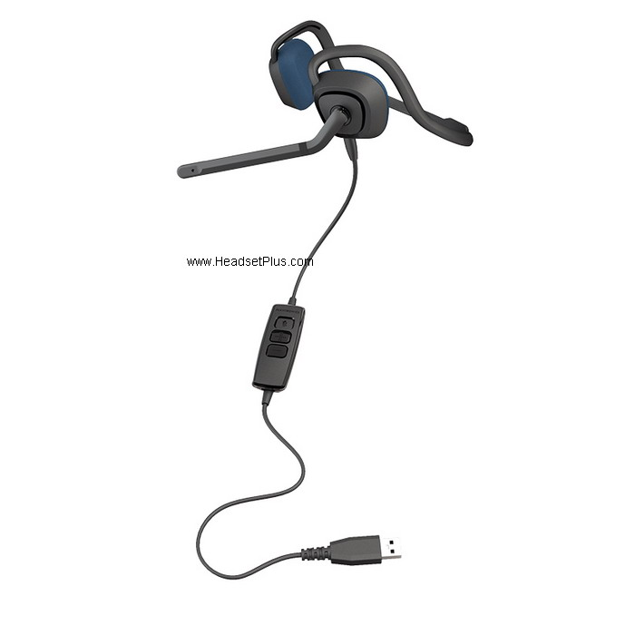 Plantronics Audio 646 USB Behind-the-Head Headset *Discontinued*