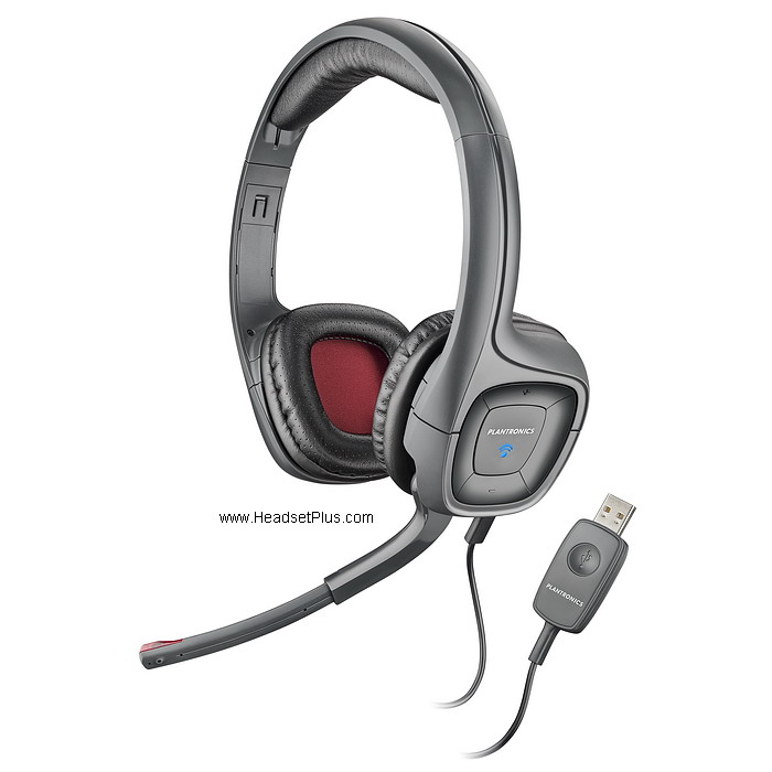 Plantronics .Audio 655 Digital USB Stereo Headset *Discontinued*
