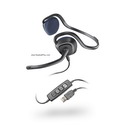Plantronics Audio 648 USB Behind-the-Head Headset Skype *Discont