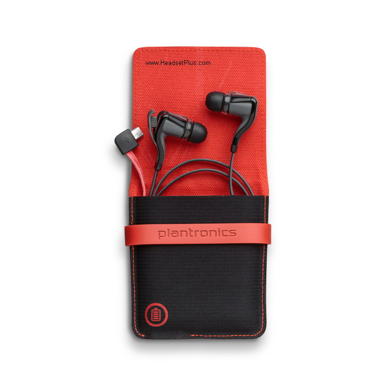 Plantronics Backbeat GO 2 Bluetooth Stereo Earbuds+case *Discont