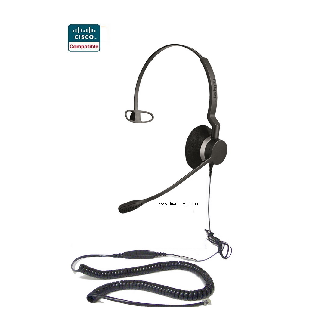 Jabra Biz 2300 Mono Cisco Certified Compatible Headset