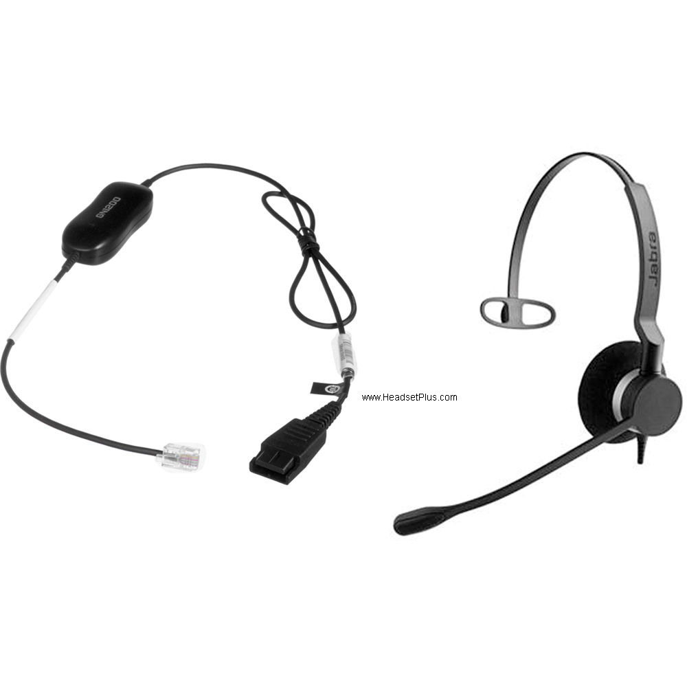 Jabra Biz 2300 QD Mono Direct Connect Headset