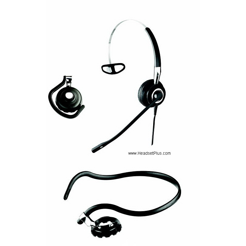 Jabra Biz 2400 3-in-1 Noise Canceling Headset *Discontinued*