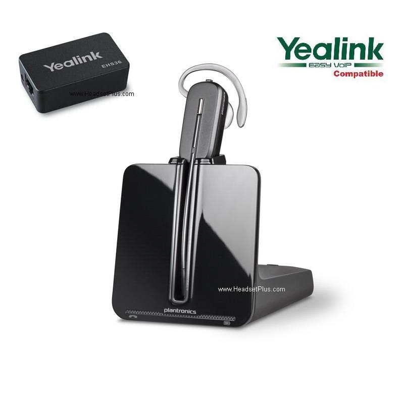 Plantronics CS540 + EHS Wireless Bundle for Yealink Phones