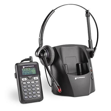 Plantronics CT12 2.4Ghz Cordless Headset Telephone *Discontinued
