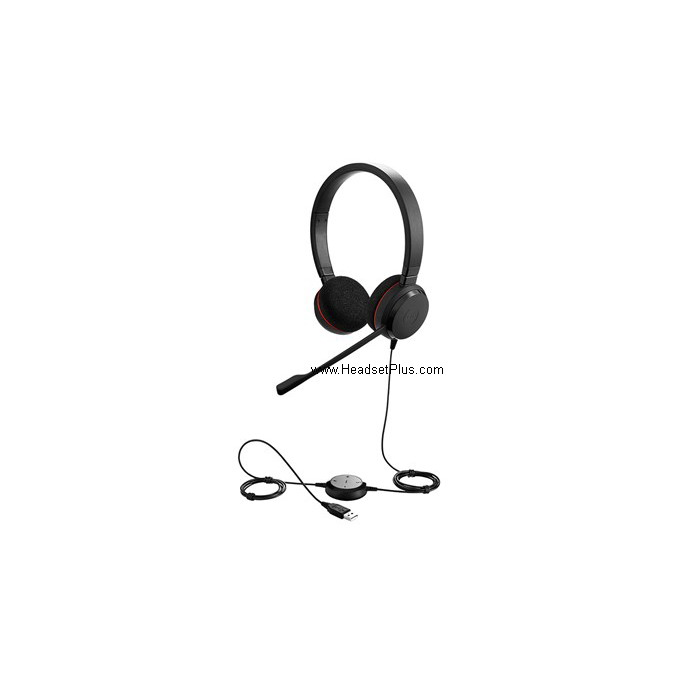 Jabra EVOLVE 20 MS Stereo USB Headset for MS Lync