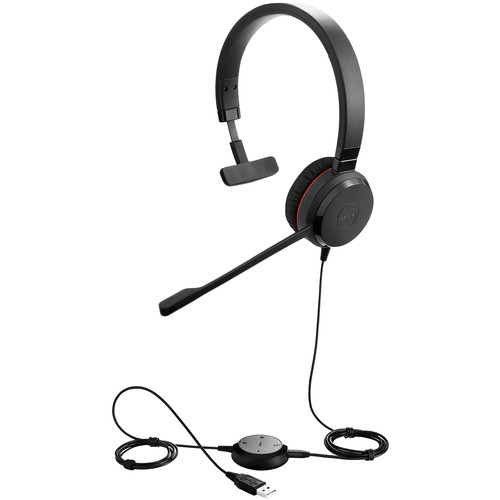 Jabra EVOLVE 30 II Mono MS Skype for Business USB 3.5mm Headset