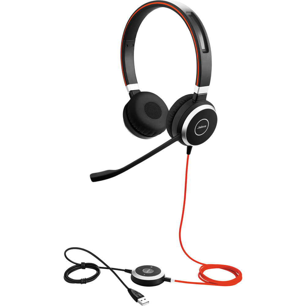Jabra EVOLVE 40 MS Stereo USB-A Headset w/3.5mm for MS Teams
