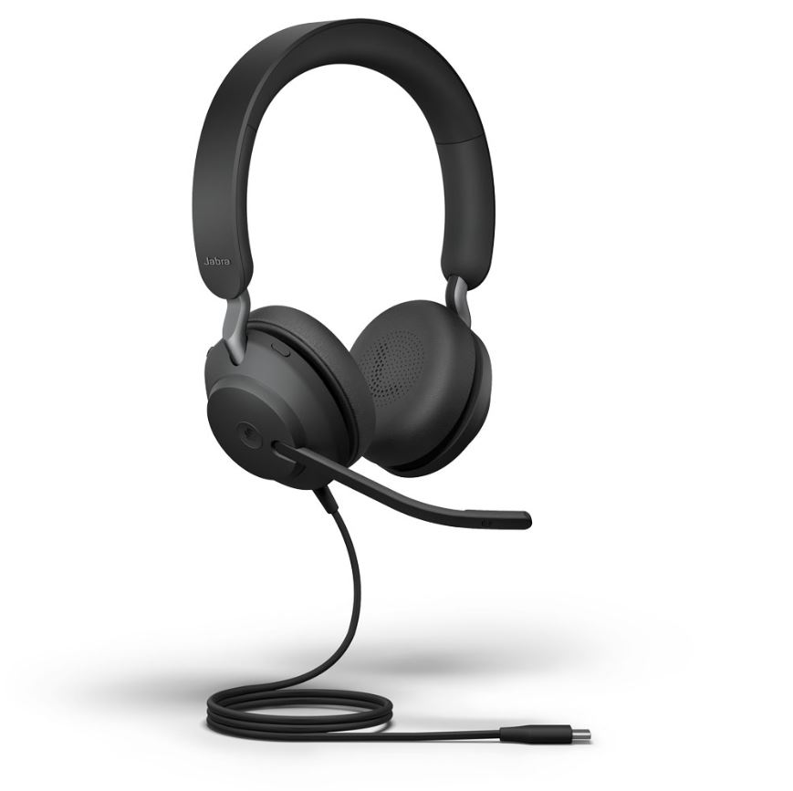 Jabra Evolve2 40 MS Stereo USB-C Wired Headset