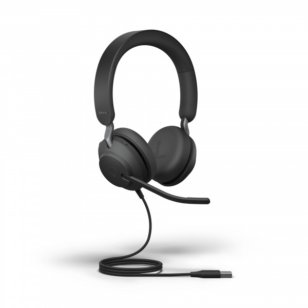 Jabra Evolve2 40 MS Stereo Corded Headset USB-A