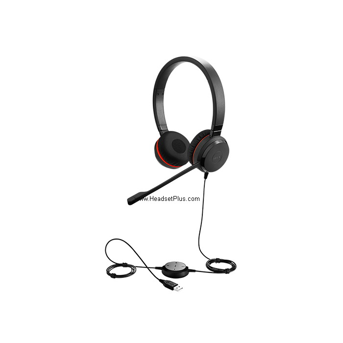 Jabra EVOLVE 30 II MS Stereo USB Headset for MS Skype w/3.5mm