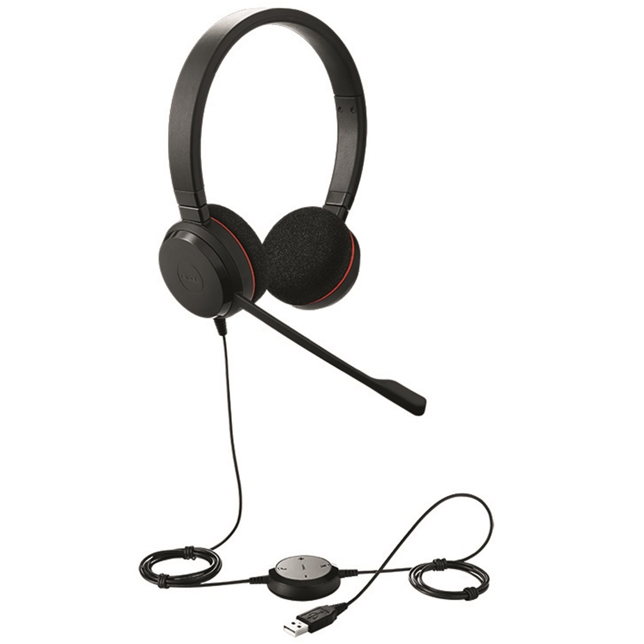 Jabra EVOLVE 20 MS Stereo USB Headset for MS Skype for Business